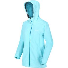 Regatta Hamara II Waterproof Shell Jacket Women cool aqua